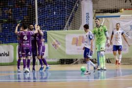 El Palma Futsal golea y reafirma su potencial ante el Zaragoza