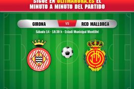 Girona-Real Mallorca, en directo