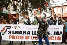 Jóvenes saharauis de Mallorca, preparados para «estar en primera línea» y «dar la vida por sus familias»