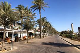 12 hoteles con 1.800 plazas siguen abiertos en noviembre en Playa de Palma