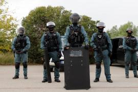 Las fuerzas de choque de la Guardia Civil