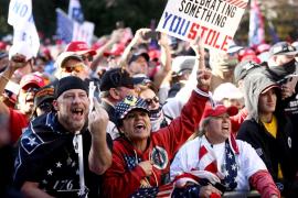 Miles de personas reclaman en Washington la «victoria electoral» de Trump