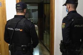 Detenidos dos ladrones en Palma que robaban escalando por las tuberías de los edificios