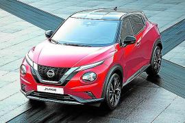 El Nissan Juke mantiene su liderato en el mercado español