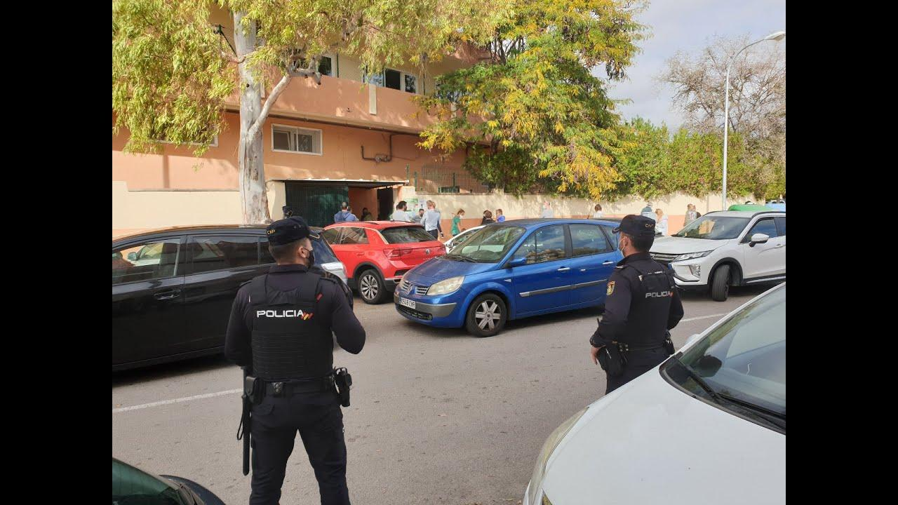 La Policía Nacional aumenta su presencia en los colegios de Palma por la psicosis de secuestros