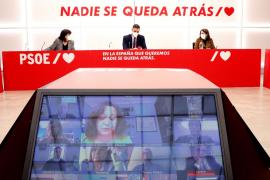 Sánchez reprocha a los barones sus críticas al acuerdo con Bildu