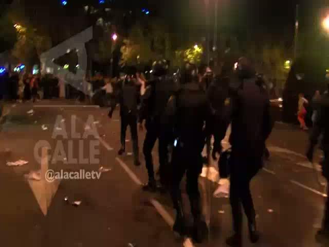 Un vídeo confirma que hubo policías infiltrados en el 25-S