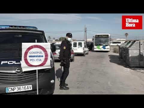 La policía cierra Son Banya tras una agresión a cuatro agentes
