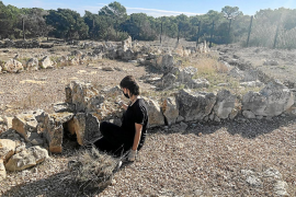 Las zonas investigadas por los arqueólogos son La Cueva 127 de La Mola y el yacimiento de Cap de Barbària II