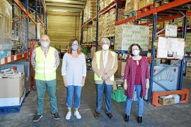 La ayuda del Banco de Alimentos llega ya a 30.000 personas de Mallorca