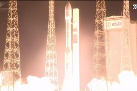 El cohete que transportaba el satélite español Ingenio se desvía y la misión se pierde