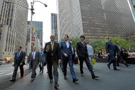 Rajoy afirma en Nueva York que pedirá el rescate si repunta la presión sobre la deuda
