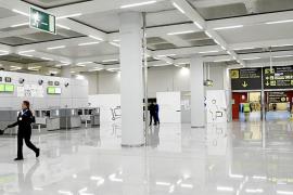 La sala de llegadas de Son Sant Joan será reconfigurada debido al Brexit