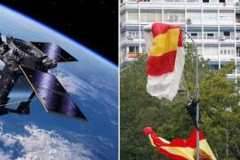 Las redes se ceban con el fiasco en el lanzamiento del cohete que llevaba al espacio al satélite español