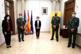 Entregan la medalla al mérito al guardia civil Antonio López