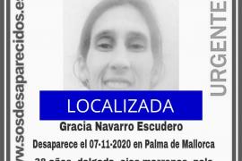 Localizada la mujer desaparecida en Palma