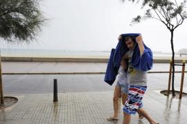 Lluvias intensas y tormentas  hasta el sábado