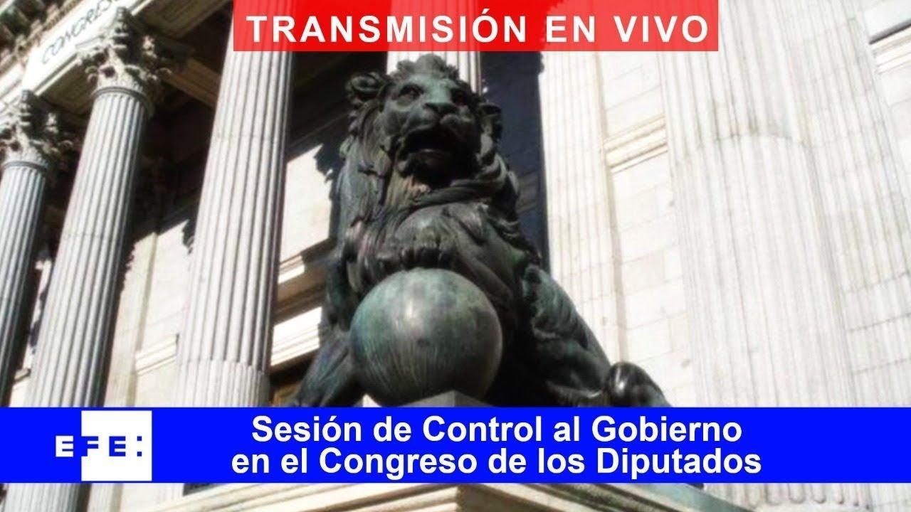 DIRECTO | Sesión de control al Gobierno