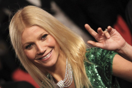 Gwyneth Paltrow  cumple 40 primaveras