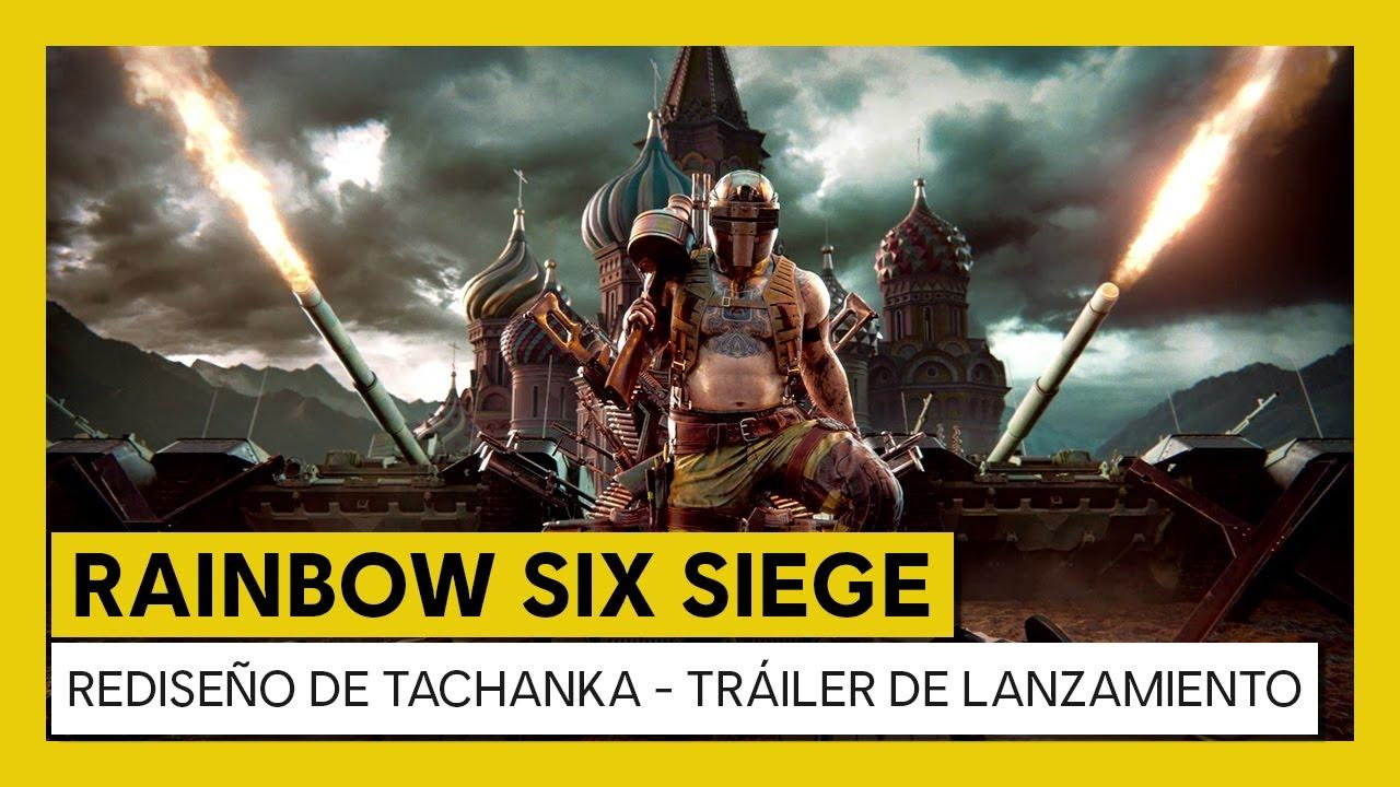 Rediseño de Tachanka de Rainbow Six Siege ya está disponible