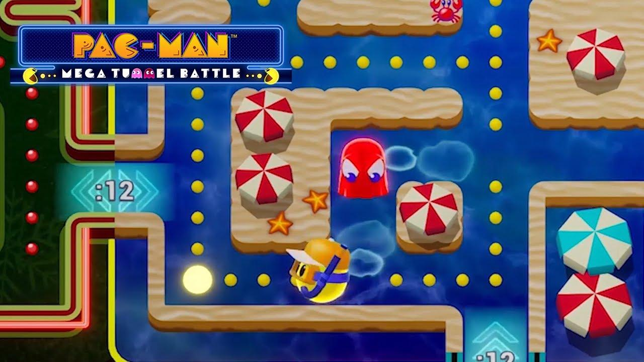 PAC- MAN Mega Tunnel Battle, un juego que llegará en exclusiva a Stadia.