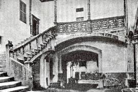Un libro recuerda que Randolph Hearst compró en Palma parte de un patio del XVI