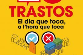 Cort sancionará con hasta 3.000 euros el uso incorrecto del servicio de recogida de trastos