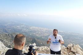 Dani García cocina a 1.200 metros de altura con un fin solidario