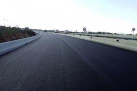 Comienza la apertura progresiva del segundo carril de la carretera de Santa Eulària