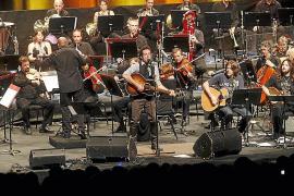 Los príncipes de Asturias arropan el estreno sinfónico de Jaime Anglada