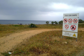 Consell y Ajuntament protegen el litoral para evitar el paso de vehículos