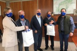 El Consell entrega 6.000 mascarillas reutilizables a la Federación de Mayores de Ibiza
