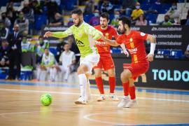 Primera derrota de la temporada para el Palma Futsal
