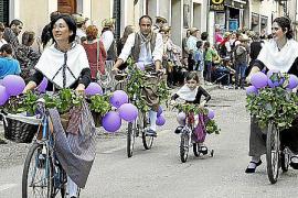 Desfile de carrozas en Binissalem