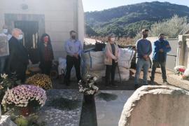 Concluyen sin éxito las tareas de excavación para localizar una posible fosa en el cementerio de Valldemossa