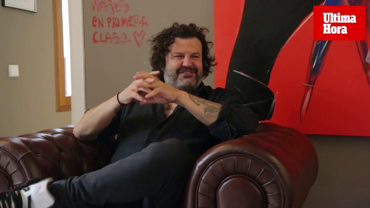 Domingo Zapata: «En Palma estoy pintando mejor que nunca»