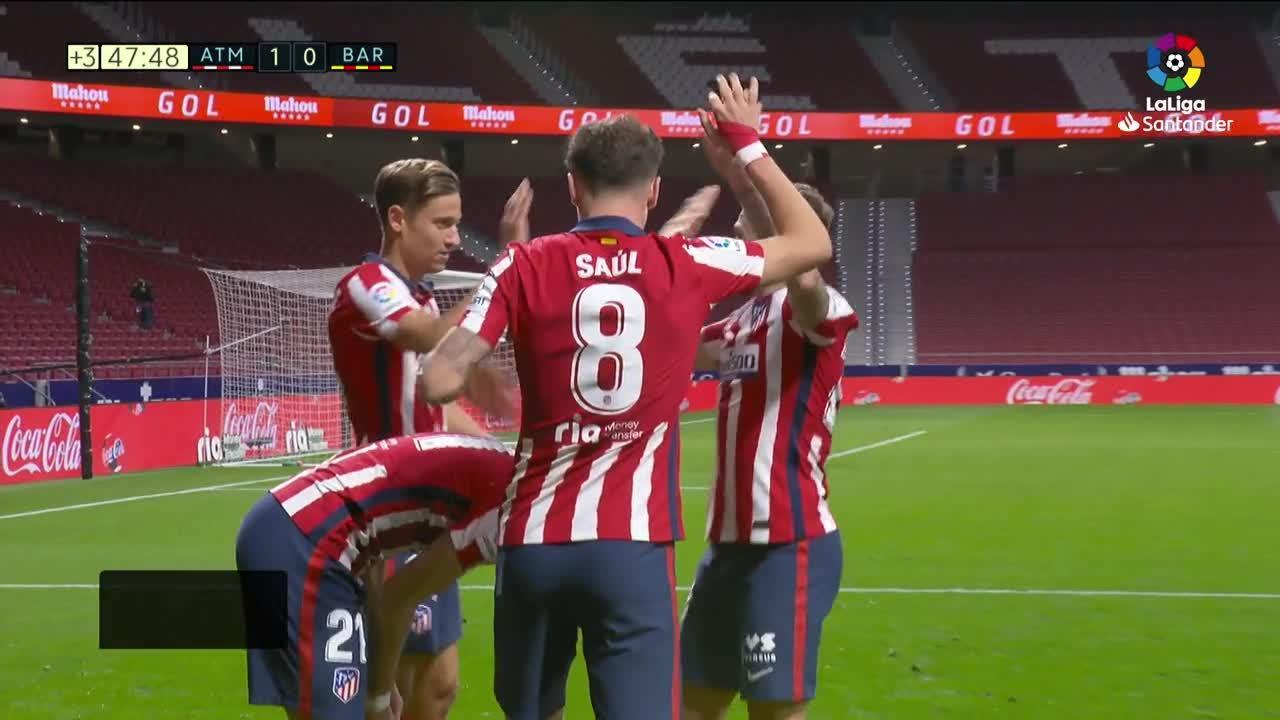 El Atlético gana y deja tocado al Barcelona