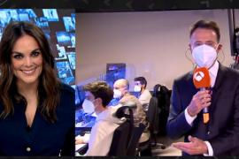 Matías Prats le confiesa a Mónica Carrillo lo que pensó al verla en 'Mask Singer'