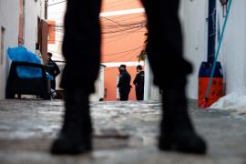 El operativo antidroga de la Policía Nacional en sa Penya, en imágenes. (Fotos: Daniel Espinosa)