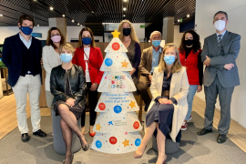 CaixaBank entregará 25.000 regalos de Navidad a niños y niñas en situación de pobreza