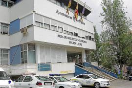 PALMA . POLICIA LOCAL . SANT FERRAN, CUARTEL DE LA POLICIA LOCAL DE PALMA .