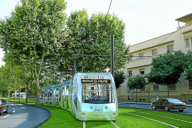 El Govern ya prepara el tranvía a Son Espases y al aeropuerto a la espera de la financiación