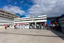 El reclamo del CESIF en Can Misses, en imágenes. (Fotos: Daniel Espinosa)