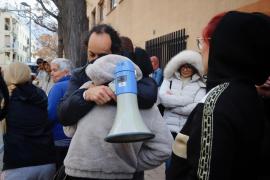 En Palma hay programado un desahucio cada 2,7 días entre noviembre y marzo