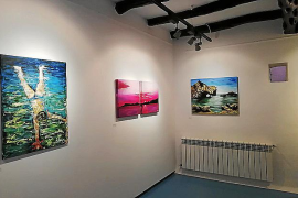 La artista madrileña expone en la sala Can Curt de Sant Agustí hasta el 13 de diciembre