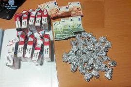 Arrestado un 'telenarco' a domicilio con droga escondida en Son Gotleu
