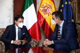 Vídeo de la rueda de prensa de los presidentes de España e Italia