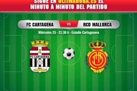 Así ha sido el Cartagena-Real Mallorca