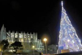 Prueba final para las luces de Navidad