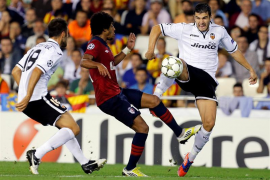 Valencia vs Lille en Champions league 2012-2013
